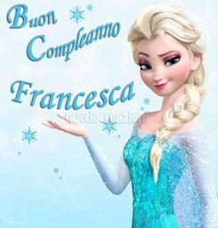 Elsa Frozen su fogli di pasta di zucchero o cialda (ostia)