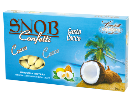 Snob Gusto cocco confezione da 500g € 9,00