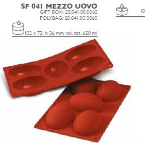 stampo uovo in silicone