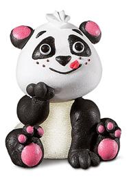 soggetto gelatina e zucchero panda 4x4,5cm
