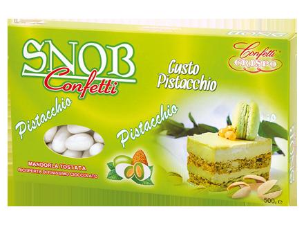 Snob Gusto pistacchio  confezione da 500g € 9,00