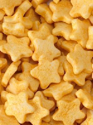 piccole stelline di zucchero oro