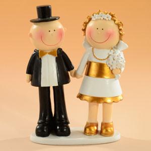 Sposi Oro 50 Anni Matrimonio H.15cm € 21,00