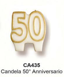 candela 50° anniversario € 2,50
