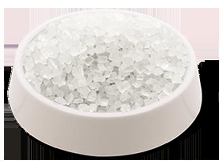 cristalli di zucchero bianchi confezione da 500g