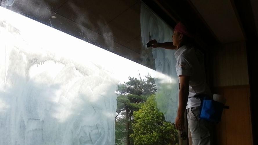 西日・結露対策ガラス塗装