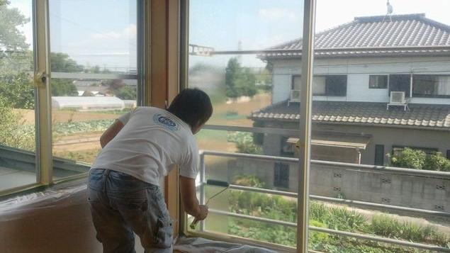 窓の日差し対策 UVカット