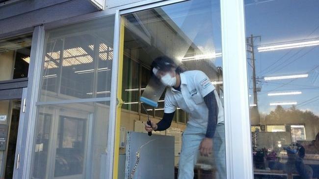 窓の寒さ対策 断熱ガラスコーティング
