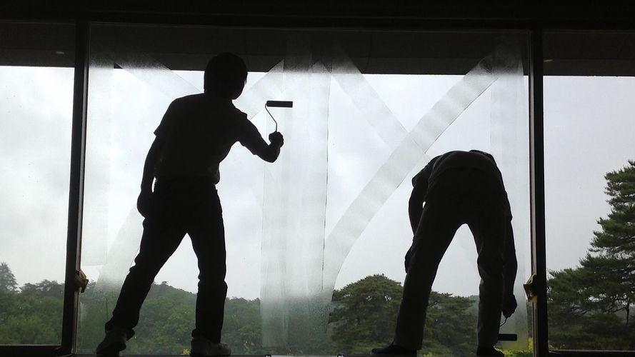 窓を断熱塗装コーティング