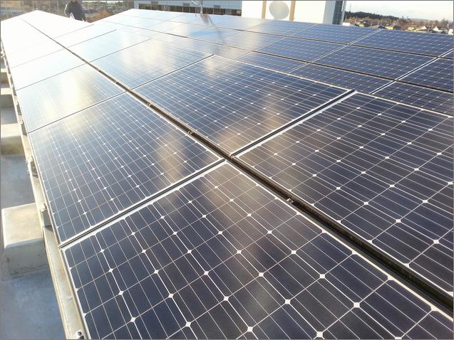 ソーラーセルフメンテコート施工完了