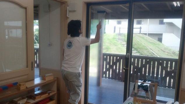 窓ガラス断熱工事