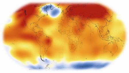世界の気温上昇