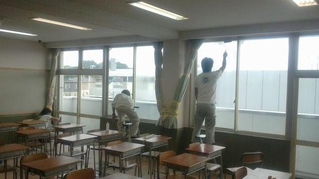 教育施設 窓ガラスの断熱