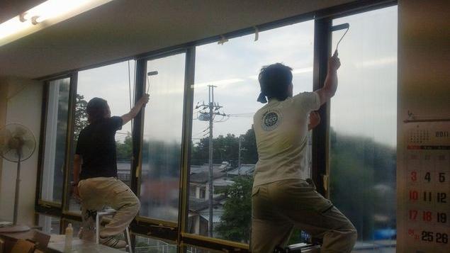 窓ガラス断熱コーティング