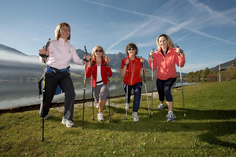 Nordic Walking durch den Kaiserwinkl