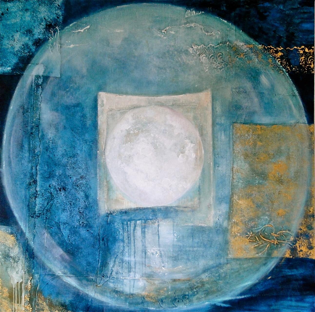 pleine lune 1MX1M