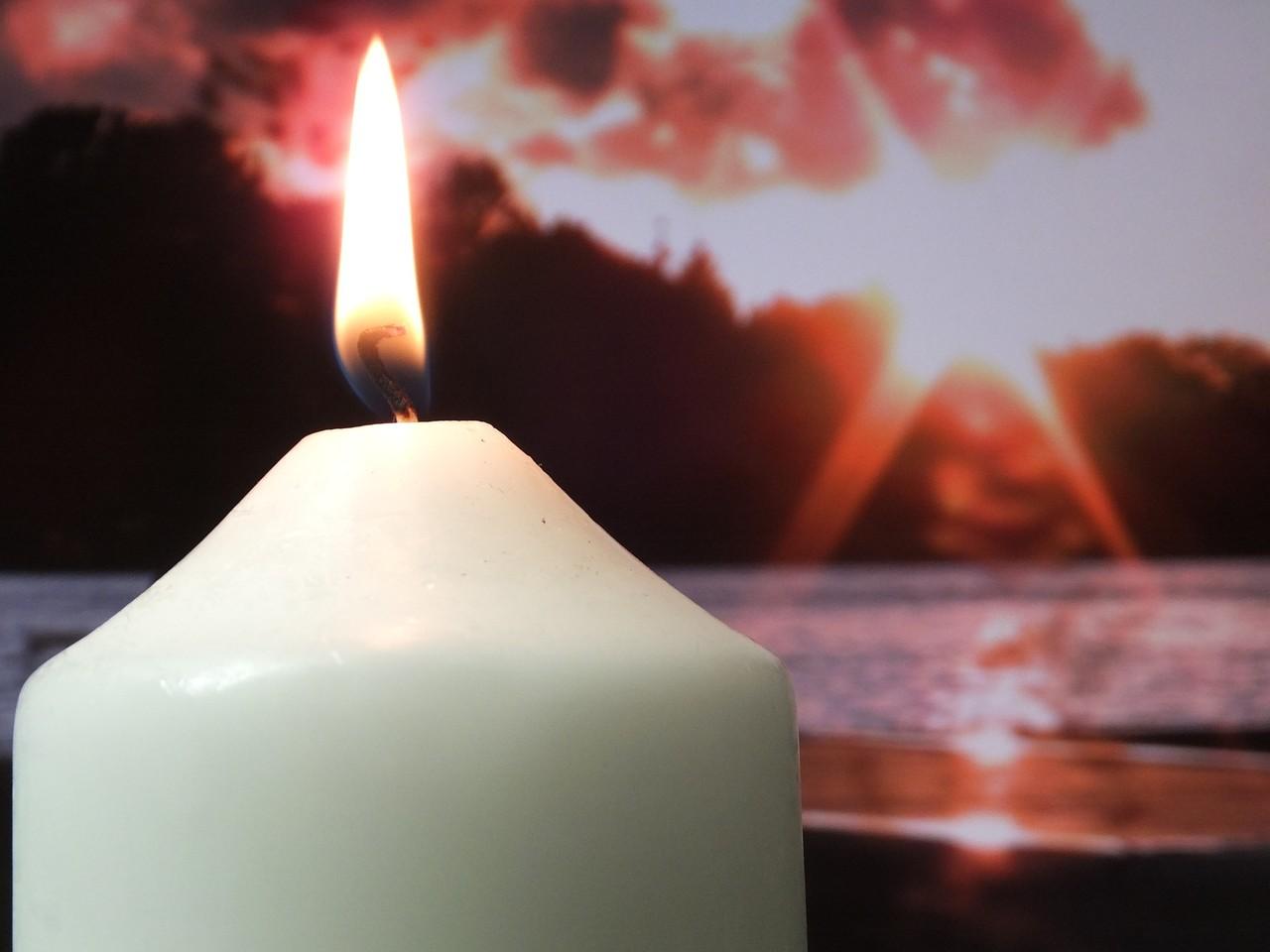 Kerze 80//8cm 800x80 Farbe Elfenbein Kaminkerze Altarkerze Gartenkerze
