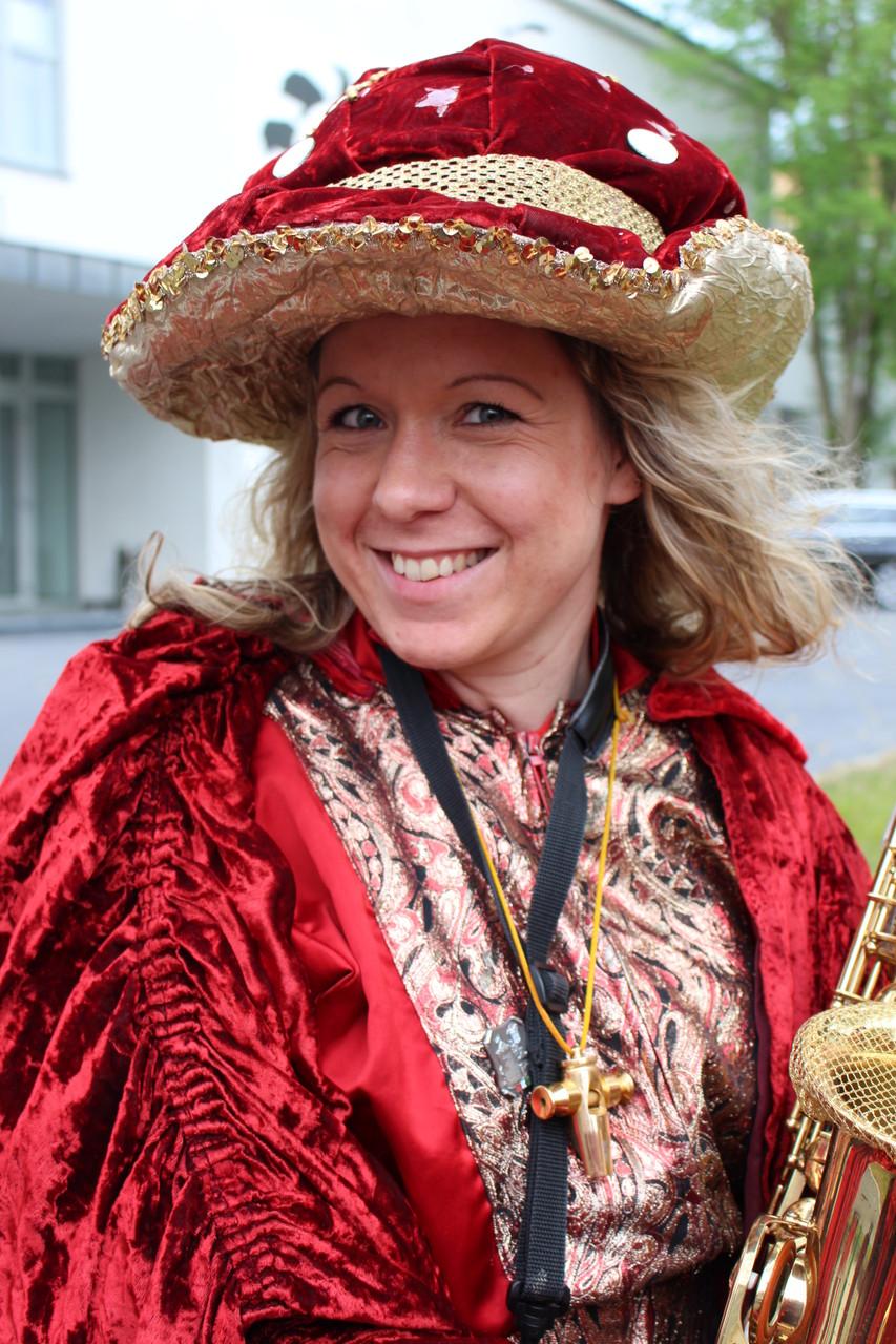 Neumann, Katrin - Saxophon