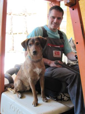 Markus Stocker mit Hund Nico