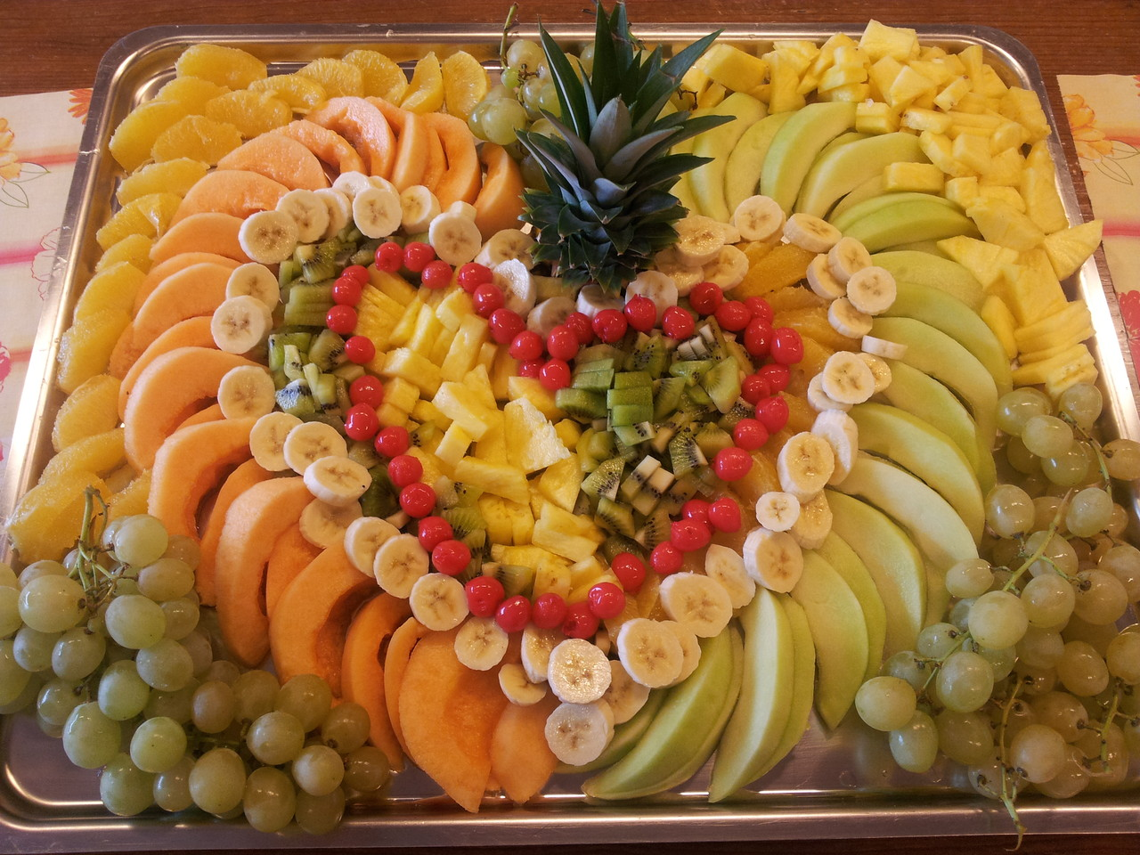 Fruchtplatte pro Person (100gr.) sFr. 1.90