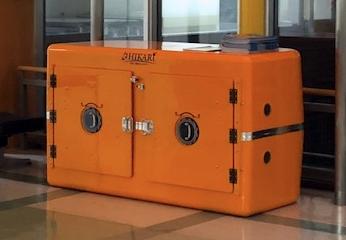 北海道釧路地方の診療所に設置された津波シェルターCL-HIKARi000