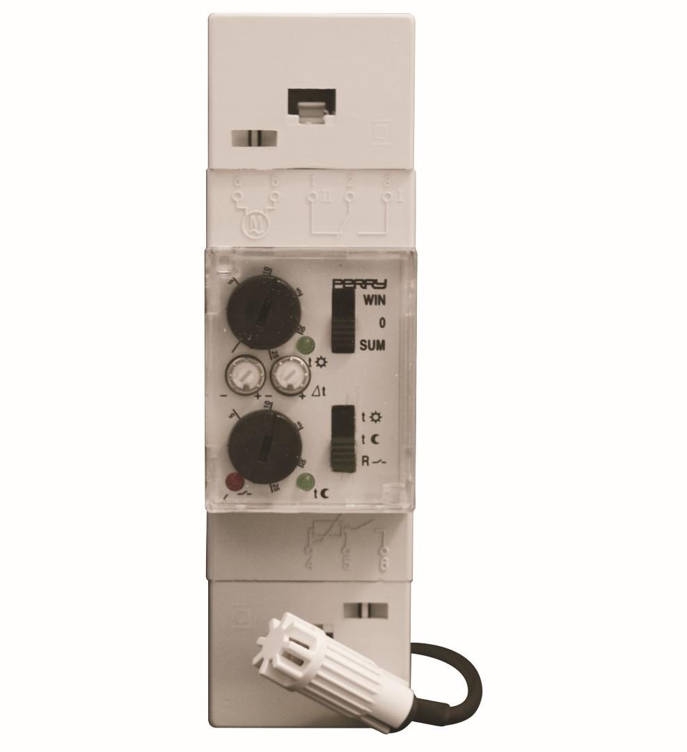 Temperaturregelgeräte - Verteilereinbau Elektronische Raumtermperaturregelung - 1TM TE082