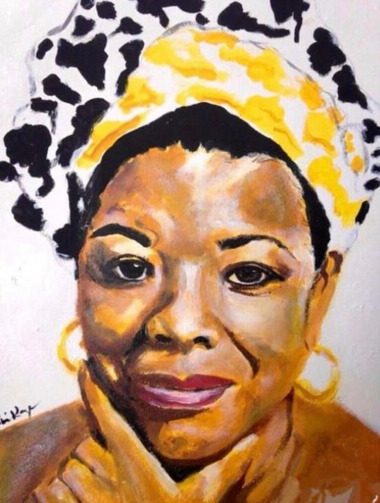 Maya Angelou (1928 - 2014)