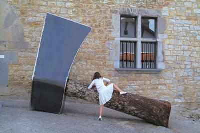 Christophe Doucet - Sculpture hache