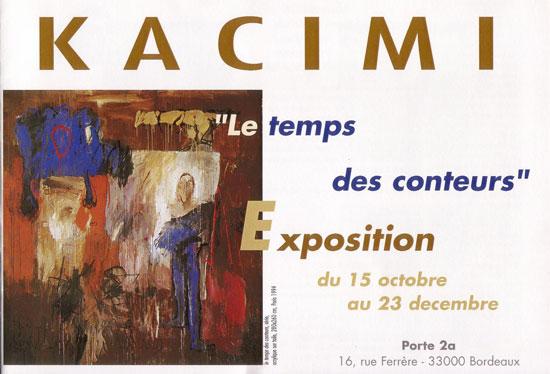 Exposition Kacimi - Groupe des Cinq