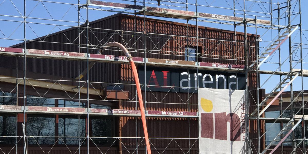 Gossauer Mehrzweckhalle heisst «AL arena»