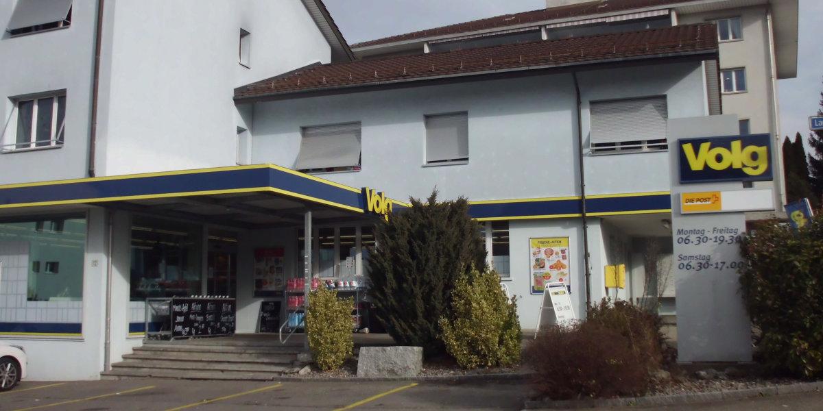 Volg-Laden Grüt ZH im März vorübergehend geschlossen