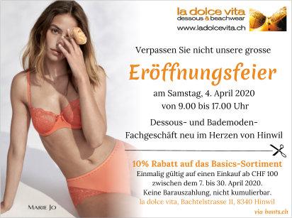 bunts.ch-Leserinnen profitieren von 10 % Rabatt auf einen Einkauf ab Fr. 100.-. Einfach diesen Coupon drucken oder auf deinem Smartphone im Geschäft zeigen.