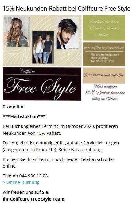 Beispiel einer Promo-Anzeigen in der Agenda von bunts.ch