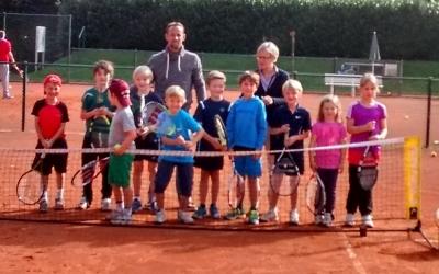 Tennis von der Pike auf gelernt - unsere KTG-Zukunft!