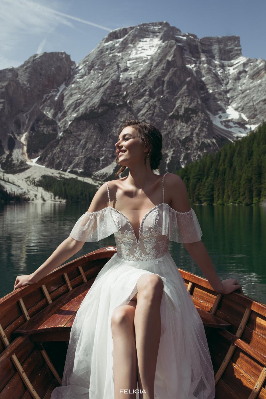 ausgefallene Brautkleider vintage Le Rina München myLovely Spitze