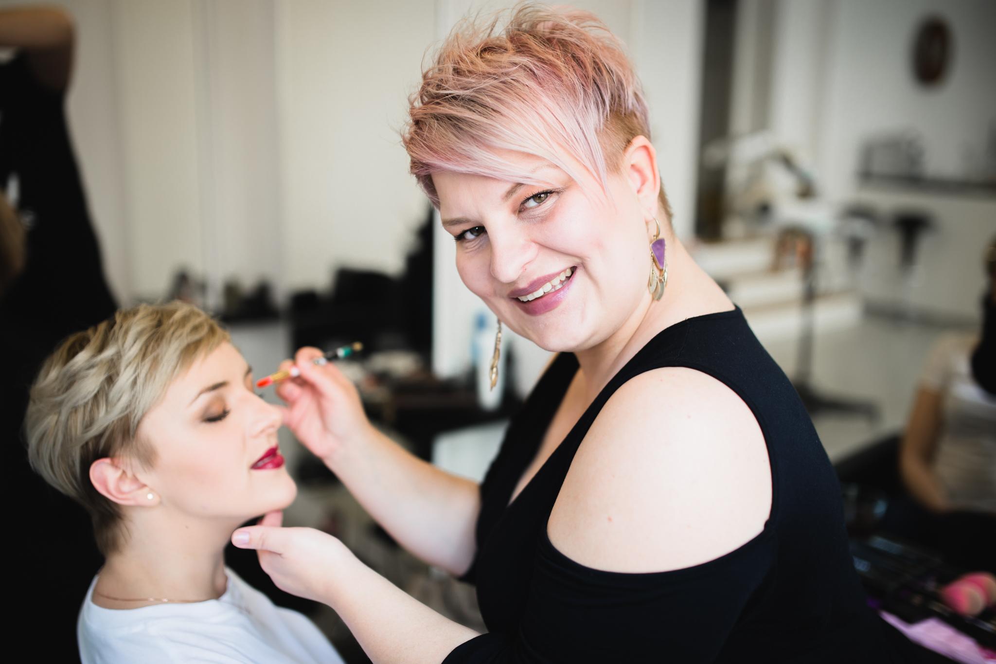 Sarah Hott Make up Brautstyling Hochsteckfrisur Hochzeit Braut Brautmake up