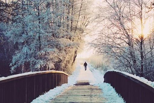 Spaziergang an der frischen Luft - Ruhepause