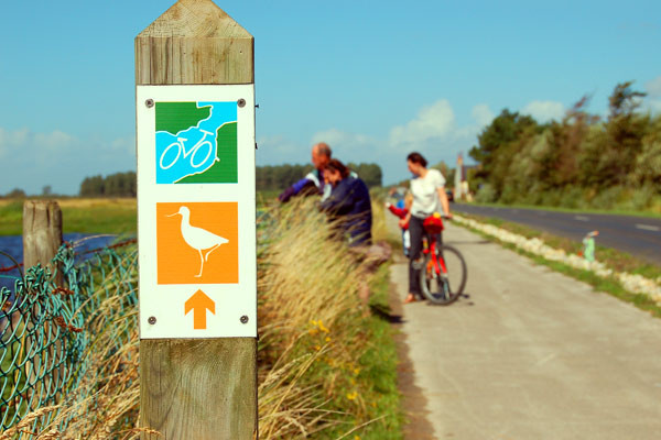 Vélo - Baie de Somme - Marquenterre