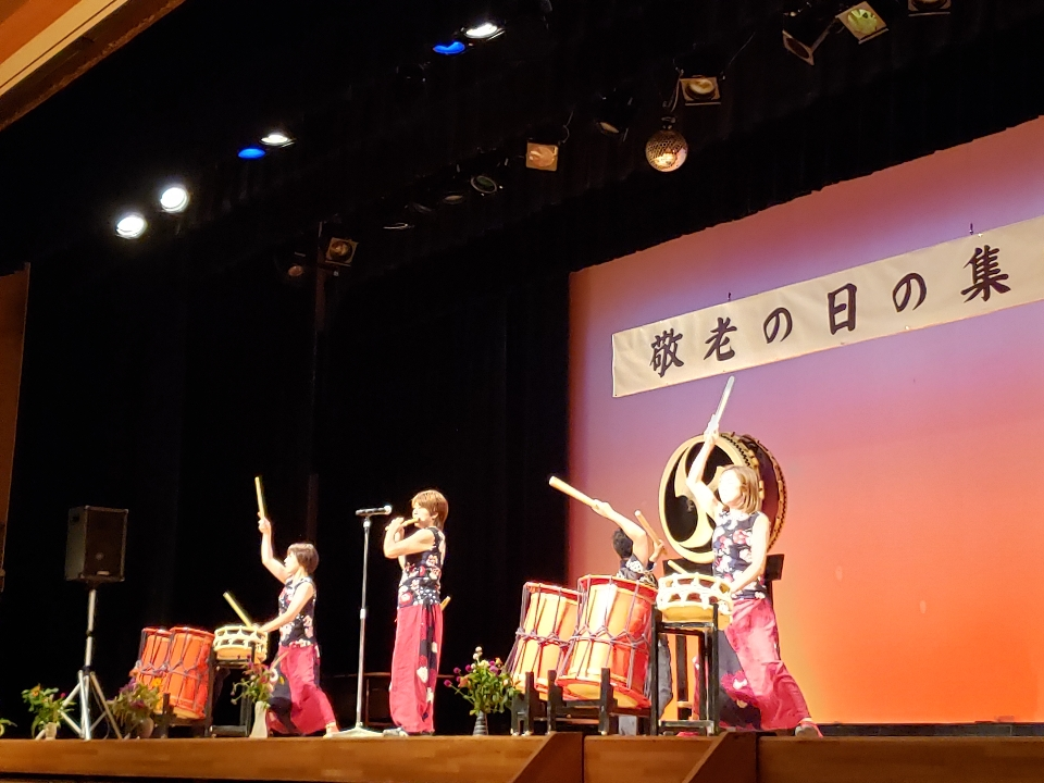 島田市島地区敬老の日の集い