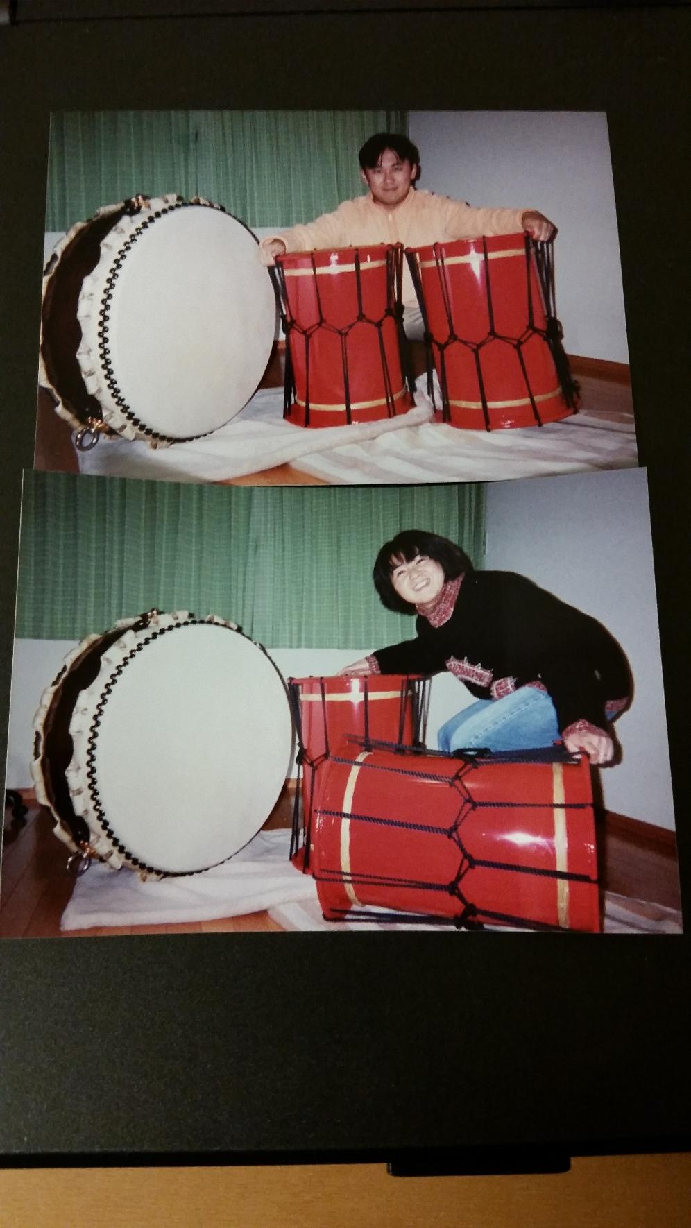 2001年1月 我が家に太鼓が届いた記念日