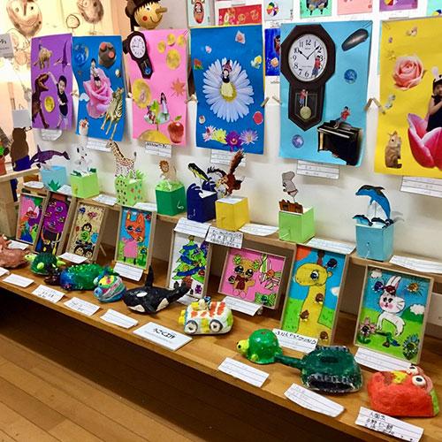 「絵画教室✳︎トイ・ボックス 17th 作品展」無事終了。