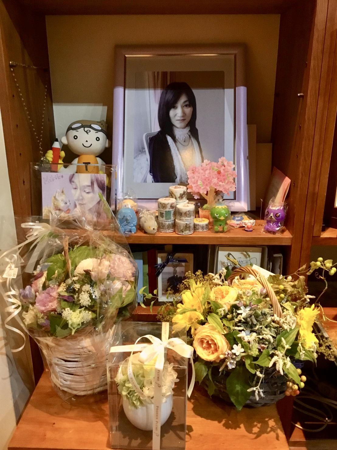 7月4日は友美子の七回忌でした。