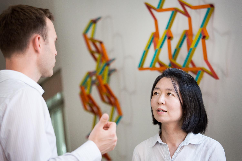 Mary Kim im Gespräch mit Michael Härteis