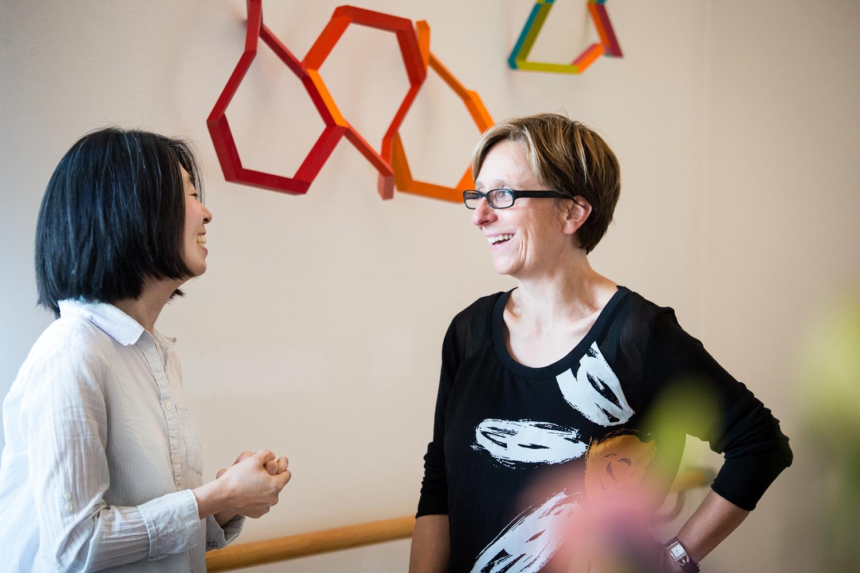 Mary Kim im Gespräch mit Petra Neuhaus