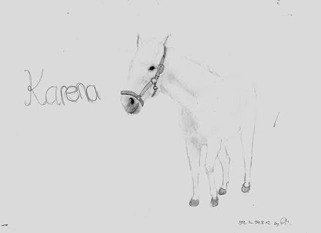 Karena - das älteste Pony