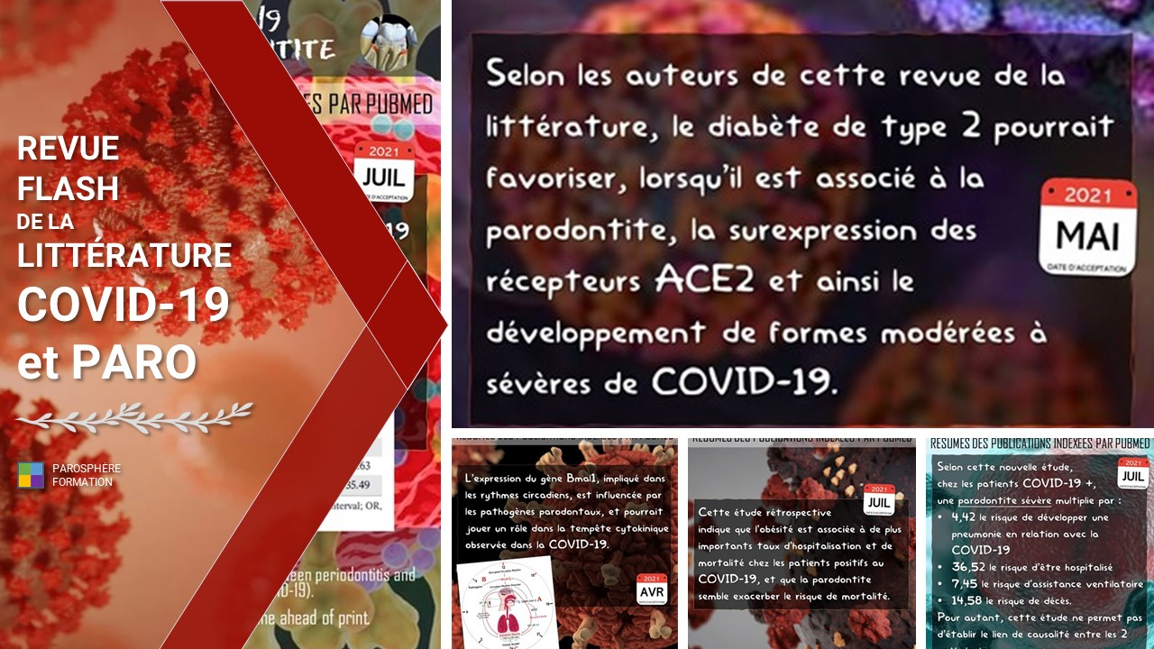 Revue flash PSF   COVID-19 et maladies parodontales #5