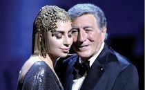 "Tony Bennett & Lady Gaga, Label ©Universal Music Group ""Cheek To Cheek"","