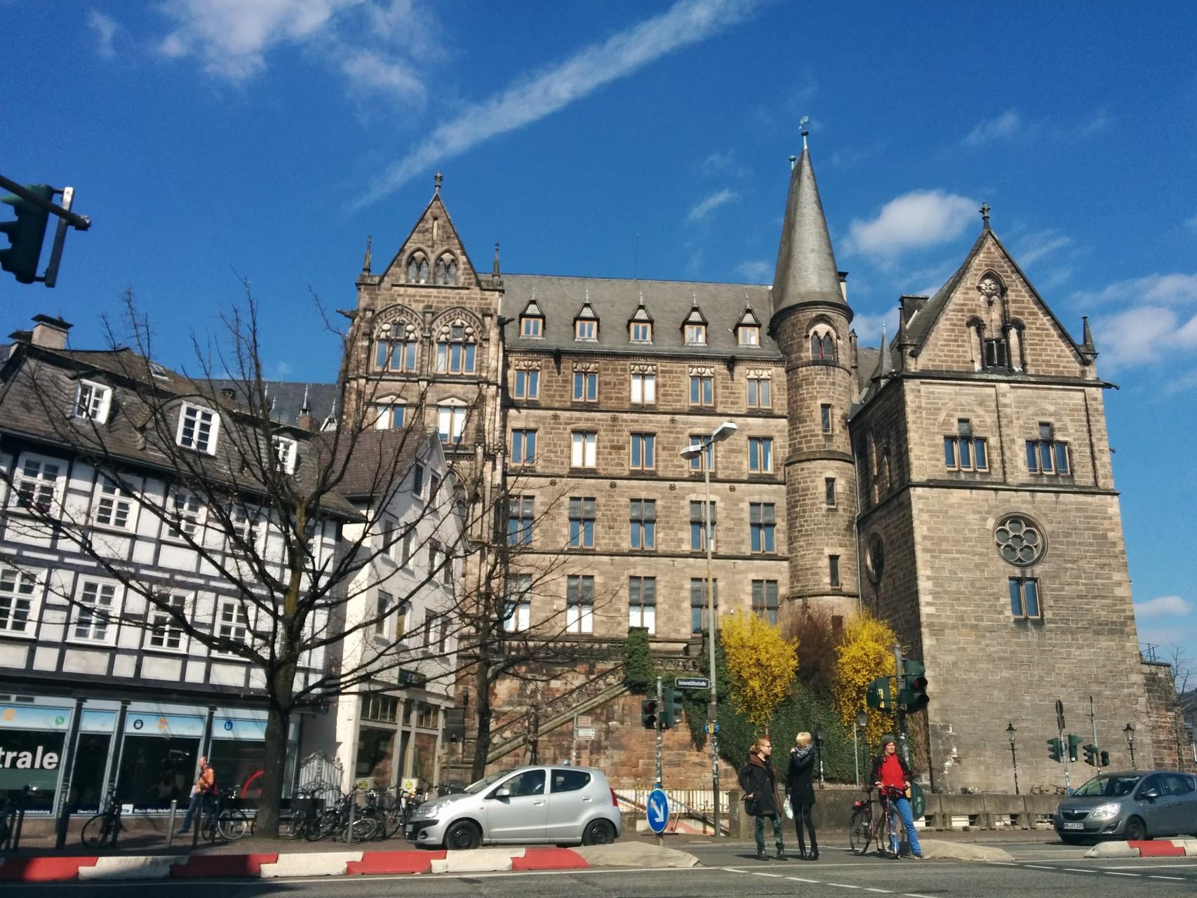 Universitätsstadt Marburg, die alte Uni