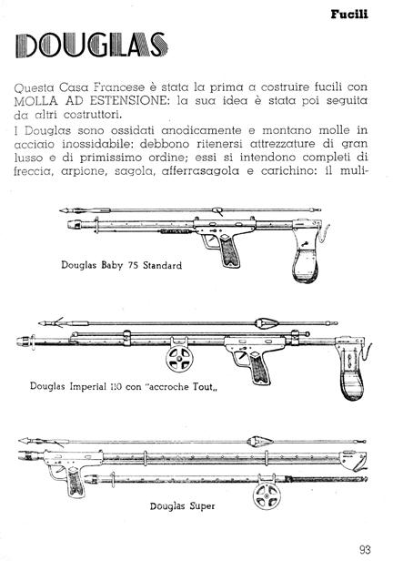 Modelos de fusil Douglas