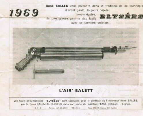Fusil L air Balett, modelo Elysées